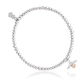 Honey Bee Affinity Bead Bracelet 17-18cm