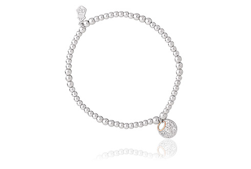 Clogau Am Byth Beaded Bracelet 16-16.5cm