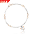 Lioness Affinity Agate Affinity Bead Bracelet 17-18cm *SALE*