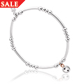 Celebration Affinity Bead Bracelet 17-18cm