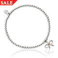 Tree of Life Bow Affinity Bead Bracelet 16.5-17.5cm *SALE*