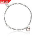 Together Forever Affinity Bead Bracelet 17-18cm *SALE*