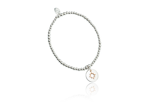 My True North Affinity Bead Bracelet 17-18cm