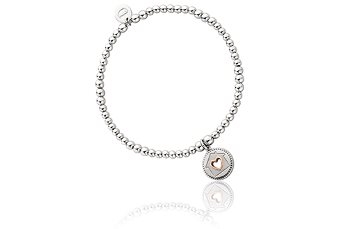 Home is where the Heart is Affinity Bead Bracelet 17-18cm