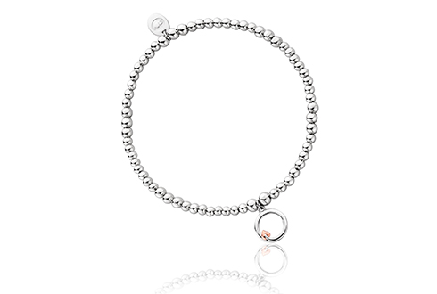 Tree of Life Circle Affinity Bead Bracelet 17-18cm