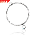 Tree of Life Circle Affinity Bead Bracelet 16.5-17.5cm