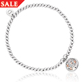 Tree of Life White Mother of Pearl Affinity Bead Bracelet 17-18cm *SALE*