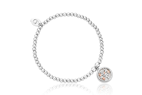 Tree of Life White Mother of Pearl Affinity Bead Bracelet
