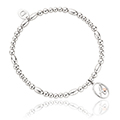 Tree of Life Initials Affinity Bead Bracelet 16-16.5cm - Letter A
