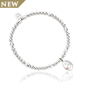 Tree of Life Initials Affinity Bead Bracelet 17-18cm - Letter B