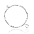 Tree of Life Initials Affinity Bead Bracelet 16-16.5cm - Letter B
