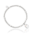 Tree of Life Initials Affinity Bead Bracelet 16-16.5cm - Letter C