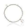Tree of Life Initials Affinity Bead Bracelet 17-18cm - Letter F