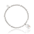 Tree of Life Initials Affinity Bead Bracelet 16-16.5cm - Letter M
