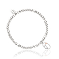 Tree of Life Initials Affinity Bead Bracelet 17-18cm - Letter T