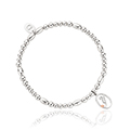 Tree of Life Initials Affinity Bead Bracelet 17-18cm - Letter Y