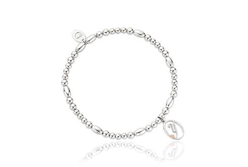 Tree of Life Initials Affinity Bead Bracelet 16.5-17.5cm - Letter Y