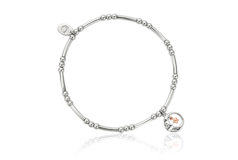 Moon and Star Affinity Bead Bracelet 16-16.5cm *SALE*