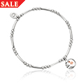 Moon and Star Affinity Bead Bracelet 16.5-17.5cm *SALE*