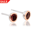 Garnet January Birthstone Earrings *SALE*