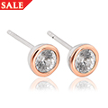 Zircon April Birthstone Earrings *SALE*