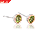 Peridot August Birthstone Earrings *SALE*
