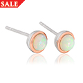 Fire Opal October Birthstone Earrings *SALE*