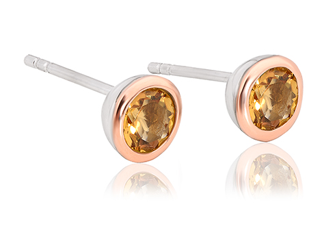 Citrine November Birthstone Earrings *SALE*