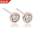 Aquamarine March Birthstone Earrings *SALE*