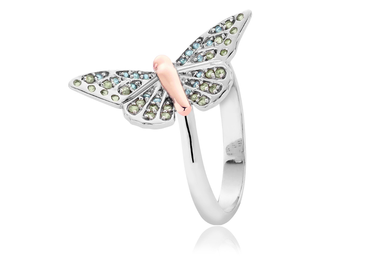 Butterfly Pave Ring *SALE*
