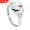 Cariad® Heart Ring