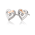 Clogau Kiss Stud Earrings