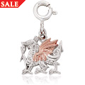 Welsh Dragon Charm