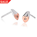 Cariad Diamond Stud Earrings