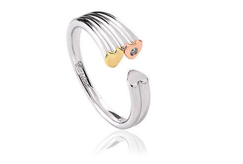 Cariad Triple Heart Ring *SALE*