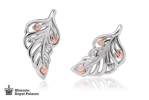 Debutante Feather Stud Earrings *SALE*