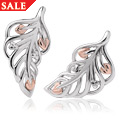 Debutante Stud Feather Earrings