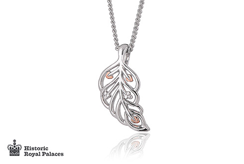 Debutante Feather Pendant
