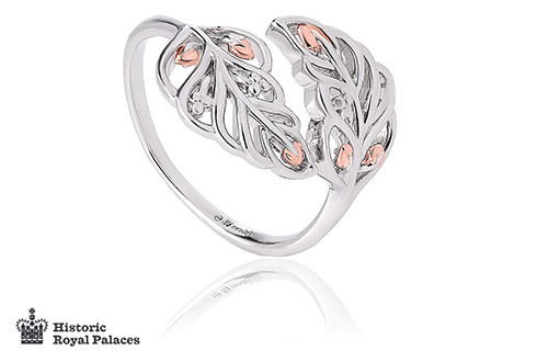 Debutante Feather Ring