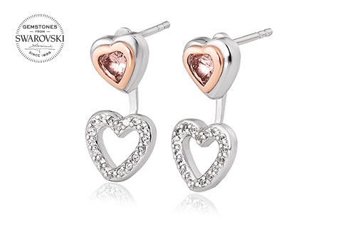 David Emanuel Heart Earrings