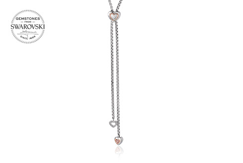 David Emanuel Heart Lariat Pendant *SALE*