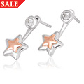 David Emanuel Star Earrings