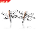 Damselfly Stud Earrings