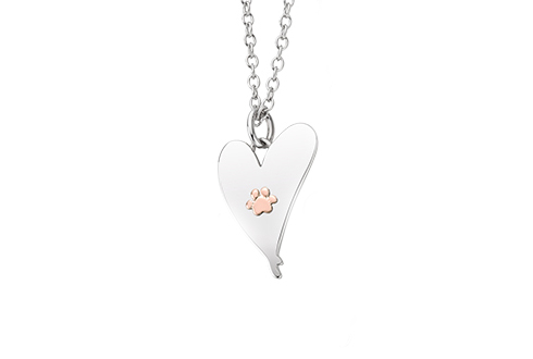 A Dog Lovers Dream Heart Pendant *SALE*