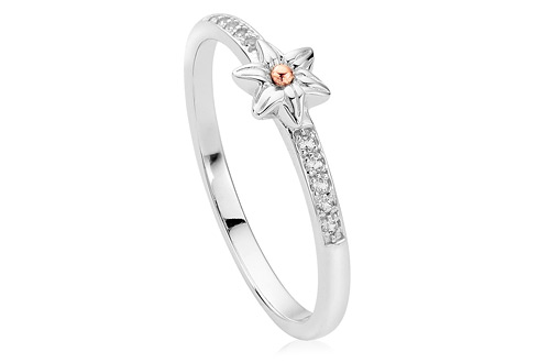 Daffodil Stacking Ring