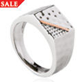 Mens Dragon Scale Ring