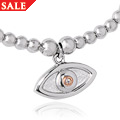 Evil Eye Stretch Bead Bracelet *SALE*