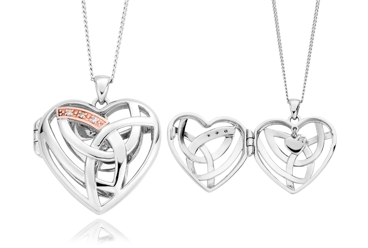Eternal Love Diamond Locket