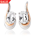 Serenade White Topaz Earrings *SALE*