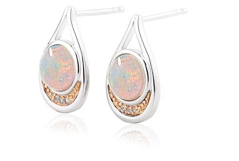 Serenade Opal Drop Earrings